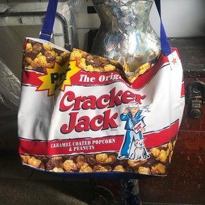 Amazing cracker jack tote bag NWT